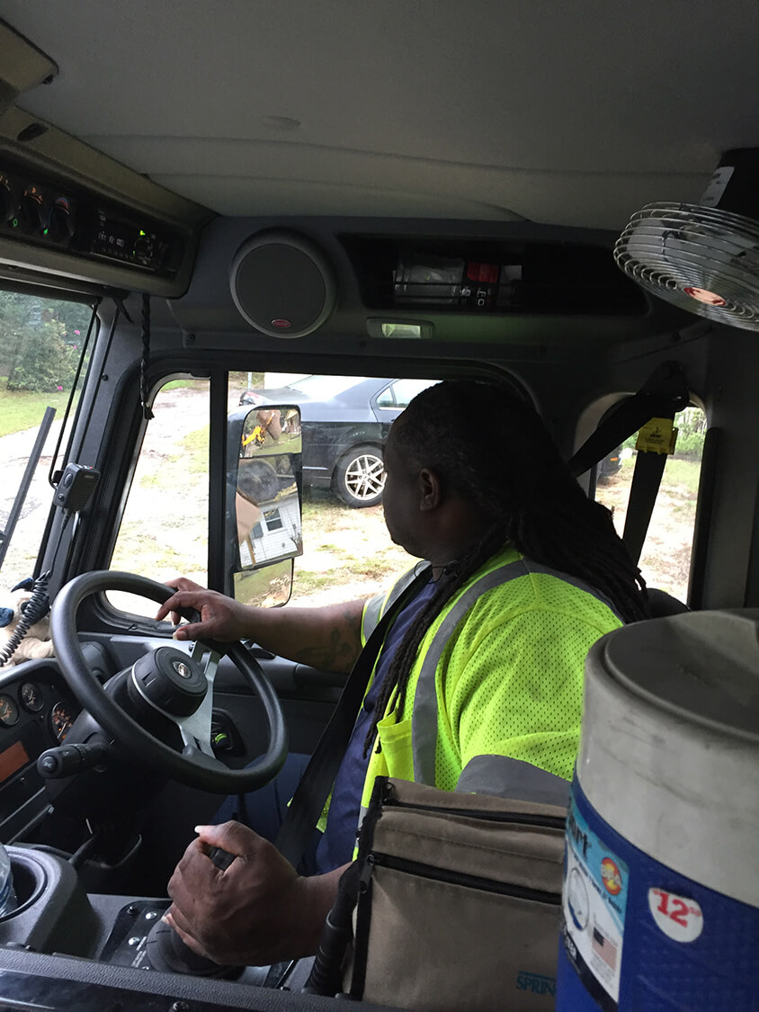 Fewer delays for drivers with new garbage trucks