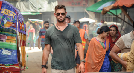 Buzzy Netflix action flick has guns, drugs and (most importantly) Chris Hemsworth