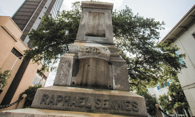 City takes down statue of Confederate Navy Admiral amid protests