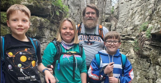 Family turns camping adventures into travel blog