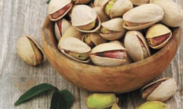 I'm nuts for pistachios